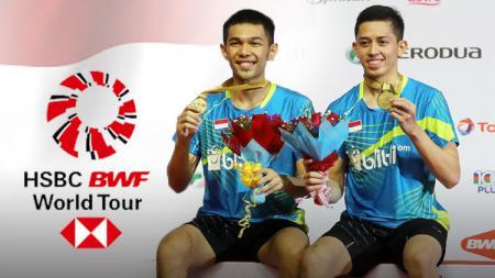 Fajar Alfian dan Muhammad Rian Ardianto. - INDOSPORT