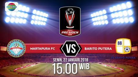 Martapura FC vs Barito Putera - INDOSPORT