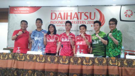 Jumpa pers Indonesia Masters 2018 - INDOSPORT