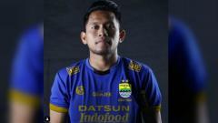 Indosport - Suntingan gambar Andik Vermansah berseragam Persib Bandung
