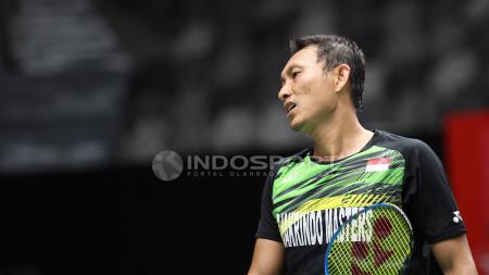 Sony Dwi Kuncoro gagal melaju ke babak kedua Thailand Open 2019. - INDOSPORT