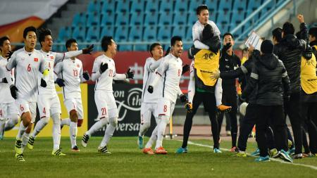 Vietnam U-23 lolos ke final Piala Asia U-23. - INDOSPORT