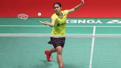 Gregoria Mariska di Indonesia Masters 2018