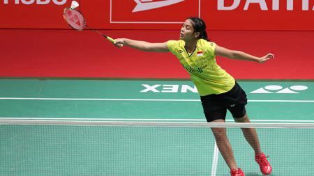 Gregoria Mariska di Indonesia Masters 2018. - INDOSPORT