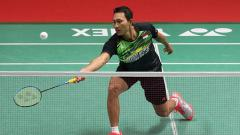 Indosport - Sony Dwi Kuncoro di Indonesia Masters 2018.