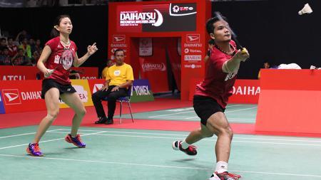 Ricky Karanda/Debby Susanto di Indonesia Masters 2018. - INDOSPORT