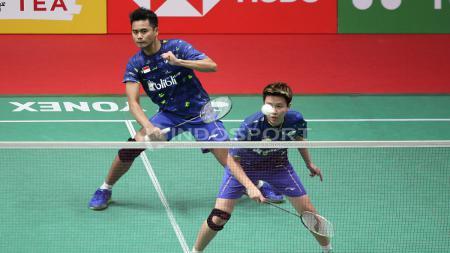 Tontowi Ahmad/Liliyana Natsir di Indonesia Masters 2018. - INDOSPORT
