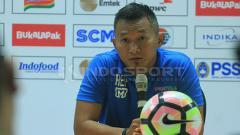 Indosport - Pelatih PS TIRA, Rudy Eka Priyambada.