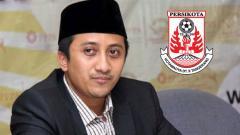 Indosport - Yusuf Mansur dan Persikota.