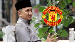 Indosport - Ustad Yusuf Mansur dan Man United.