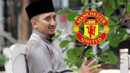 Ustad Yusuf Mansur dan Man United. - INDOSPORT