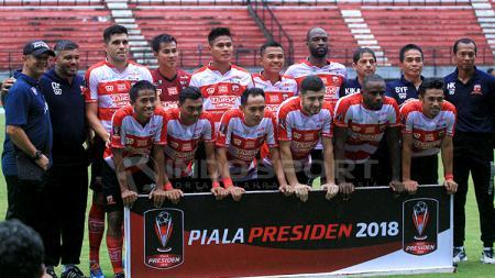 Skuad Madura United. - INDOSPORT