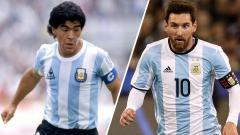 Indosport - Legenda sepak bola AS Roma, Antonio Cassano, menyebut bahwa pemain bintang Barcelona ini lebih hebat terkait dua pilihan, Lionel Messi atau Diego Maradona.