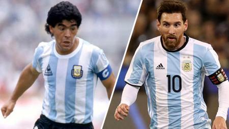 Bagi Fabio Cannavaro, Lionel Messi tak ada apa-apanya dibandingkan Diego Maradona yang terbilang kuat dan memiliki ketahanan fisik hebat - INDOSPORT