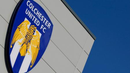 Logo Colchester United, klub kasta keempat kompetisi sepakbola Inggris - INDOSPORT