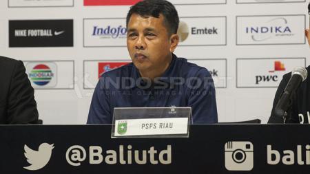 Pelatih PSIS Semarang, Jafri Sastra. - INDOSPORT