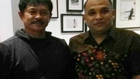Yudhi Apriyanto dan Indra Sjafri. - INDOSPORT