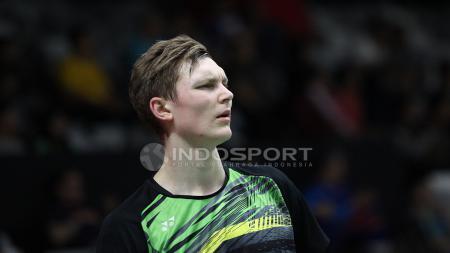 Tunggal putra asal Denmark, Victor Axelsen mundur dari ajang Indonesia Masters 2018. - INDOSPORT