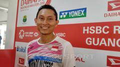 Indosport - Pebulu tangkis tunggal putra Indonesia, Sony Dwi Kuncoro.