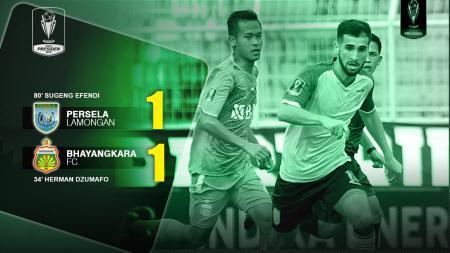 Persela Lamongan vs Bhayangkara FC - INDOSPORT
