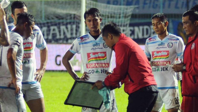 PSIS Semarang vs Arema FC Copyright: Twitter@Liga1Match