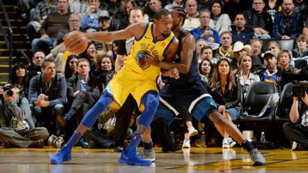 Minnesota Timberwolves vs Golden State Warriors. - INDOSPORT
