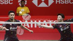 Indosport - Tantowi Ahmad dan Liliyana Natsir