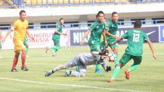 Indosport - PSMS Medan vs Sriwijaya FC.