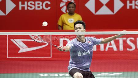 Pebulutangkis Anthony Ginting Kalahkan Chen Long. - INDOSPORT