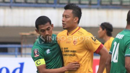 PSMS Medan versus Sriwijaya FC. - INDOSPORT