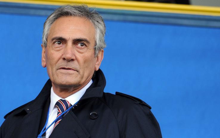 Baka calon ketua FIGC, Gabriele Gravina. Copyright: Crisalide Press