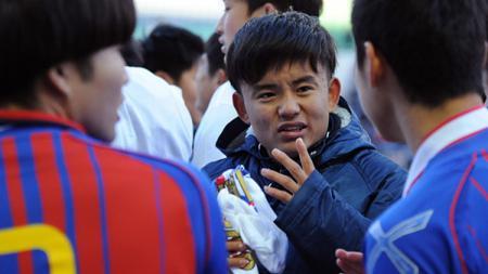 Takefusa Kubo alias Lionel Messi Jepang bisa membalas dendam ke raksasa LaLiga Spanyol, Real Madrid dengan gabung tiga raksasa Eropa ini. - INDOSPORT