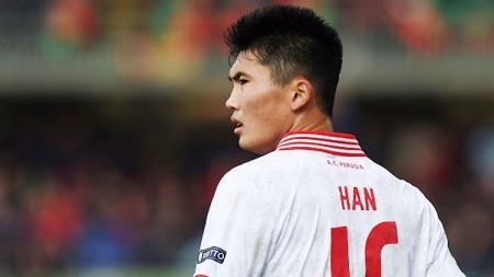 Penyerang Timnas Korea Utara, Han Kwang Song yang akan memperkuat Juventus menghadapi Lecce. - INDOSPORT