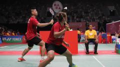 Indosport - Praveen Jordan dan Melati Deava Oktavianti