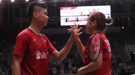 Richard Mainaky berharap pasangan Praveen Jordan/Melati Daeva Oktavianti bisa terbang tinggi di Kejuaraan Dunia Bulutangkis. - INDOSPORT