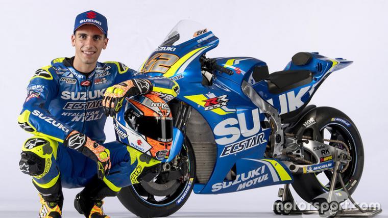 Alex Rins, Suzuki GSX-RR 2018 Copyright: motorsport.com