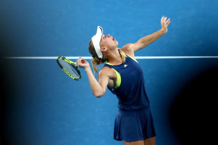 Caroline Wozniacki Copyright: Indosport.com