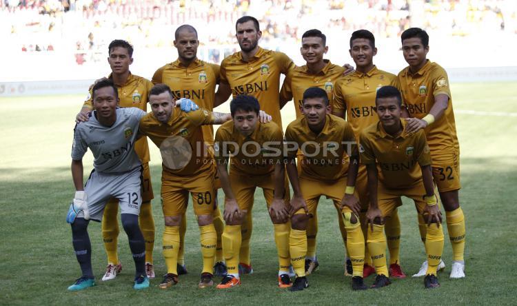 Skuat Bhayangkara FC. Copyright: Herry Ibrahim/Indosport.com