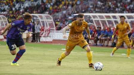 Bhayangkara FC membuka kemungkinan reuni dengan Paulo Sergio di kompetisi Liga 1 2020. Namun kemungkinan tersebut masih menunggu keputusan Paul Munster. - INDOSPORT