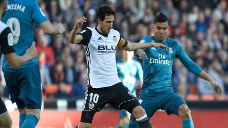 Valencia vs Real Madrid. - INDOSPORT