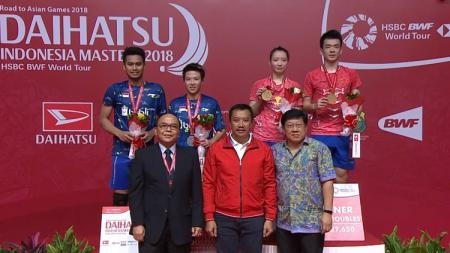 Tontowi Ahmad dan Liliyana Natsir harus puas sebagai runner-up Indonesia Masters 2018 - INDOSPORT