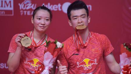 Pebulutangkis ganda campuran China, yakni Huang Yaqiong mengakui kalau penurunan performa di tahun 2019 membuatnya mendapat pelajaran penting, apa itu? - INDOSPORT