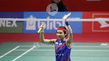 Pebulutangkis tunggal putri Chinese Taipei Tai Tzu Ying memiliki kisah selalu ketiban berkah juara saat mentas di Indonesia. - INDOSPORT