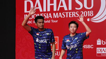 Tontowi Ahmad dan Liliyana Natsir gagal merengkuh gelar juara Indonesia Masters 2018 - INDOSPORT