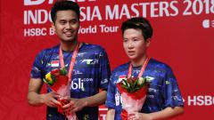 Indosport - Tontowi Ahmad dan Liliyana Natsir gagal merengkuh gelar juara Indonesia Masters 2018.