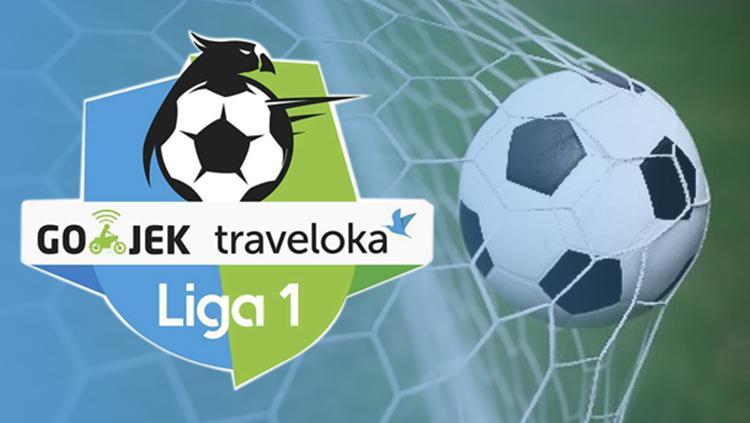 Logo Liga 1. Copyright: INDOSPORT