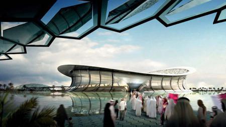 Lusail Iconic Stadium, Al-Daayen, Qatar. - INDOSPORT