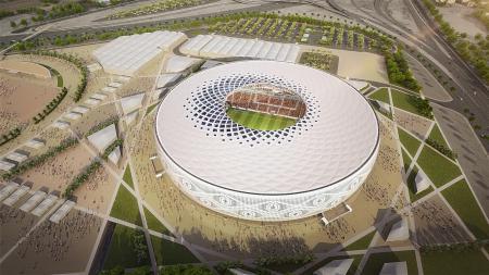 Al Thumama Stadium, Qatar. - INDOSPORT