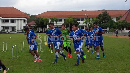 Latihan Persib Bandung. - INDOSPORT