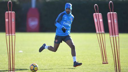 Sejumlah klub Liga Inggris, termasuk Arsenal, mulai menggelar sesi latihan menyusul rencana dimulainya kembali kompetisi tersebut pada 12 Juni 2020 nanti. - INDOSPORT